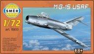 Směr Plastikový model letadla MiG-15 USAF