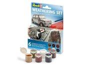 Revell Weathering Set - sada pigmentů (6 druhů)