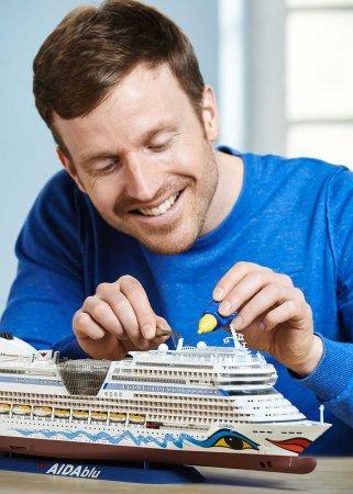 Revell Plastikový model lodě Cruiser Ship AIDAblu, AIDAsol, AIDAmar, AIDAstella