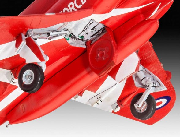 Revell Plastikový model letadla BAe Hawk T.1 Red Arrows