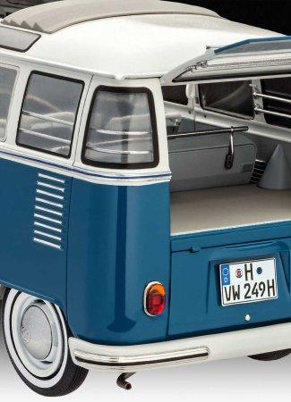 Revell Plastikový model autobusu VW T1 Samba Bus