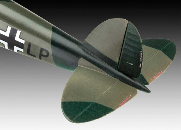 Revell Plastikový model letadla Heinkel He 70 F-2