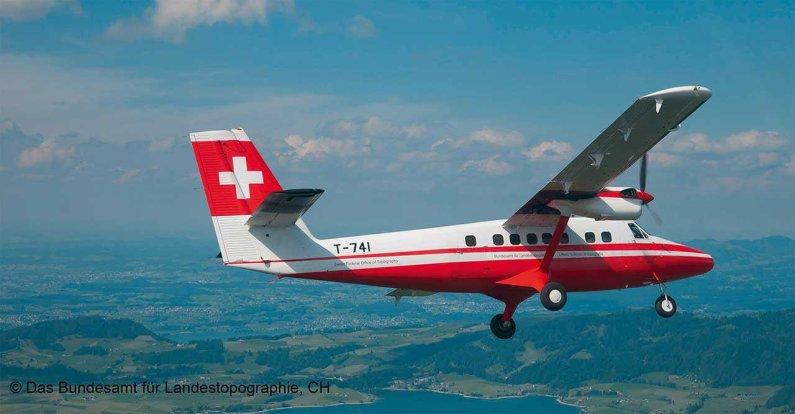 "Revell Plastikový model letadla DHC-6 Twin Otter ""Swisstopo"" - Výprodej"