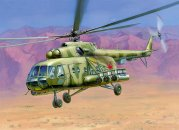 Zvezda ModelKit vrtulník - MI-8MT HIP H