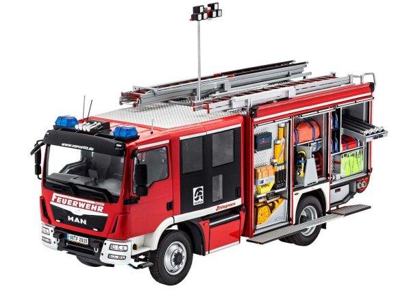 Revell Plastikový model kamionu Schlingmann HLF 20 VARUS 4x4 (MAN TGM Euro 6)