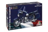 Italeri Model Kit motorka 4639 - MOTO GUZZI V7 Arma dei Carabinieri - Výprodej