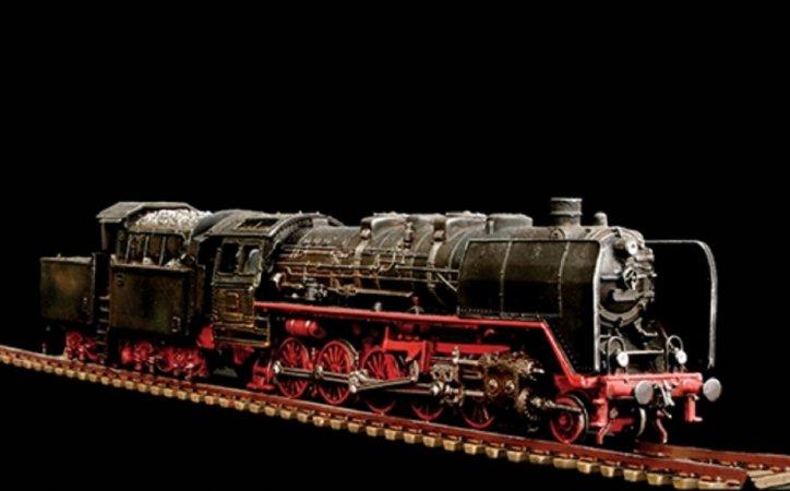 Italeri Model Kit lokomotiva 8702 - Lokomotive BR50