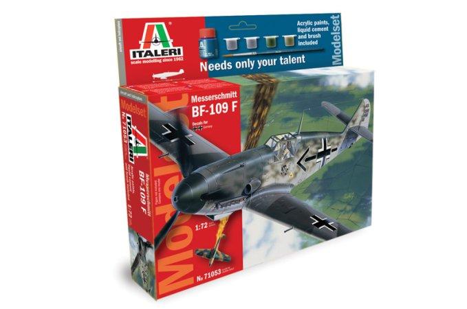Italeri Model Set letadlo 71053 - BF-109F