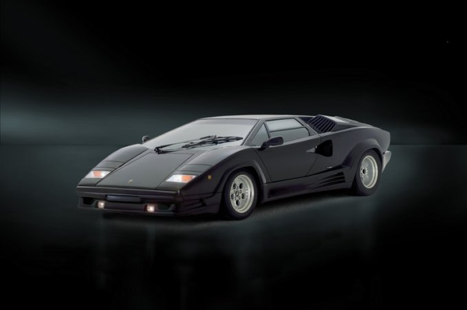 Italeri Model Kit auto 3684 - LAMBORGHINI COUNTACH 25th Anniversary