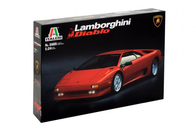 Italeri Model Kit auto 3685 - LAMBORGHINI DIABLO