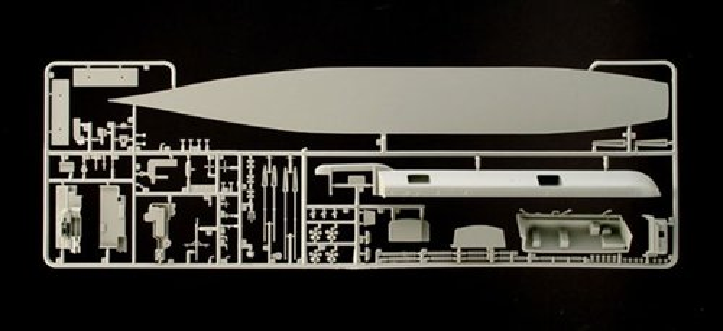 Italeri Model Kit loď 5521 - U.S.S. AMERICA CV-66