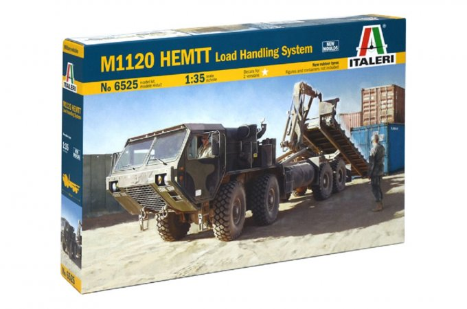 Italeri Model Kit military 6525 - M1120 HEMTT LOAD HANDL.SYSTEM