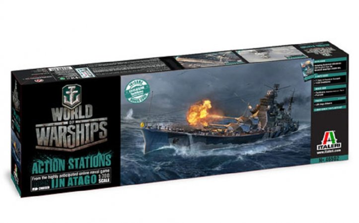 Italeri Model Kit World of Warships 46502 - IJN ATAGO