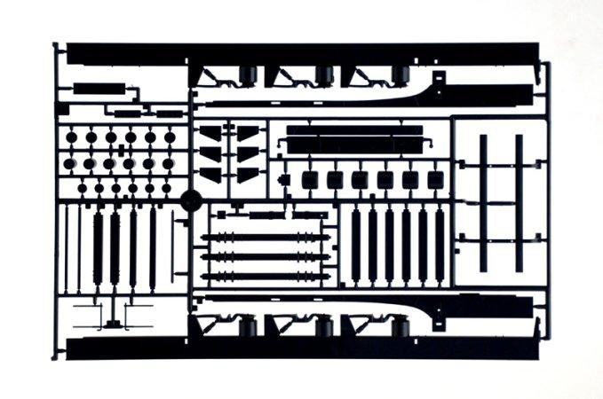 Italeri Model Kit návěs 3918 - Curtainside Trailer