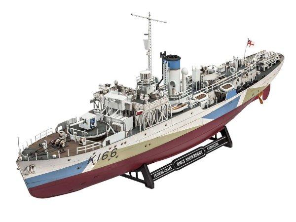Revell Plastikový model lodě Flower Class Corvette HMCS Snowberry