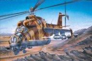 Revell Plastikový model vrtulníku Mil Mi-24D Hind