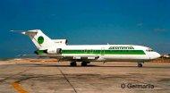 Revell Plastikový model letadla Boeing 727-100 Germania
