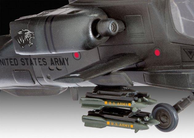 Revell Plastikový model vrtulníku AH-64A Apache