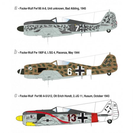 Heller Focke Wulf Fw 190 A/F