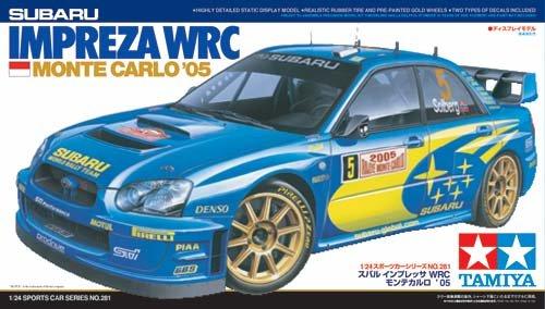 Tamiya Subaru Impreza WRC Monte Carlo