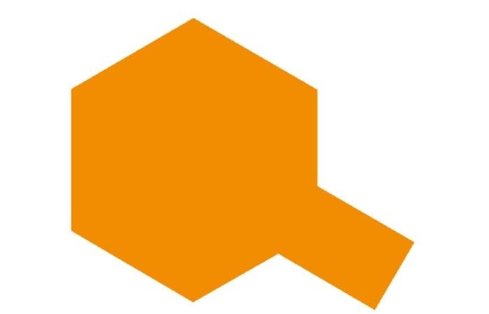 Tamiya Barva ve spreji lesklá - Zářivě oranžová (Fluorescent Orange) TS-96