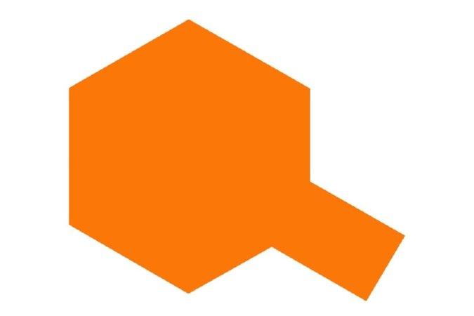 Tamiya Barva ve spreji lesklá -  Oranžová metalíza (Metallic Orange) TS-92