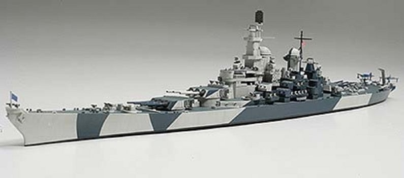 Tamiya US Navy Battleship BB-61 Iowa