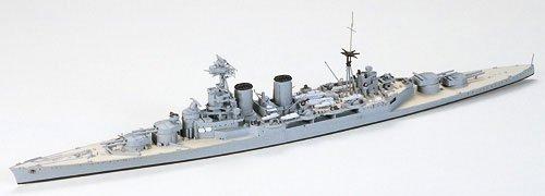 "Tamiya BC Hood & E Class Destroyer - Battle of Denmark Strait"""""