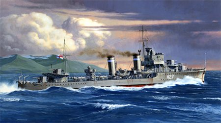 Tamiya British E Class Destroyer