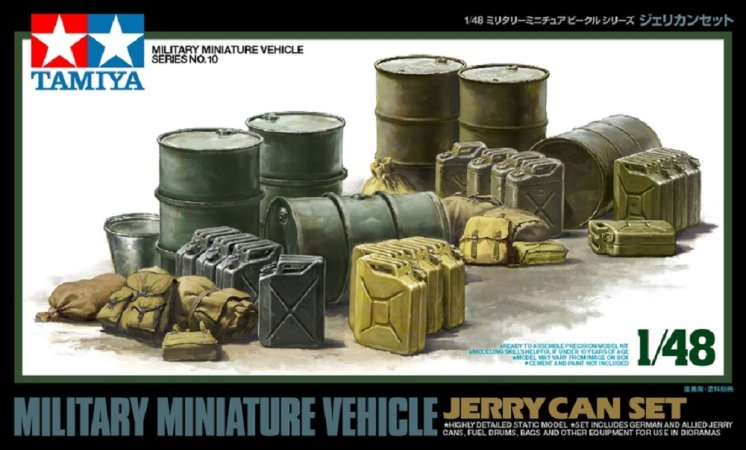 Tamiya Jerry Can Set