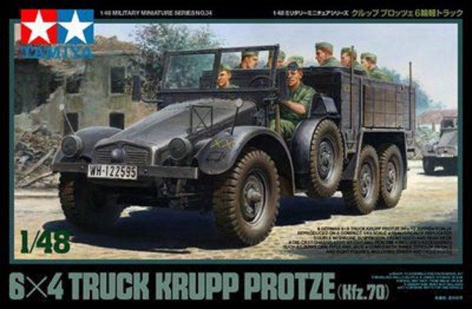 Tamiya German 6x4 Truck Krupp Protze