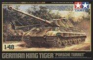 Tamiya King Tiger Porsche Turret
