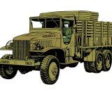 Tamiya US 2.5 Ton 6x6 Cargo Truck