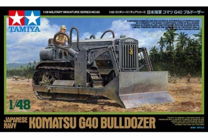 Tamiya Komatsu G40 Bulldozer - Japanese Navy