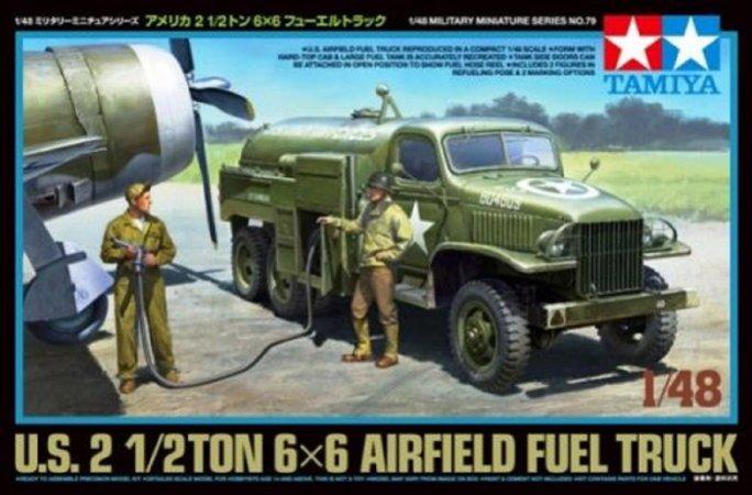 Tamiya US Airfield Fuel Truck - 2 1/2 Ton 6x6