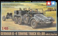 Tamiya German 6x4 Towing Truck Kfz.69 - w/3.7cm Pak