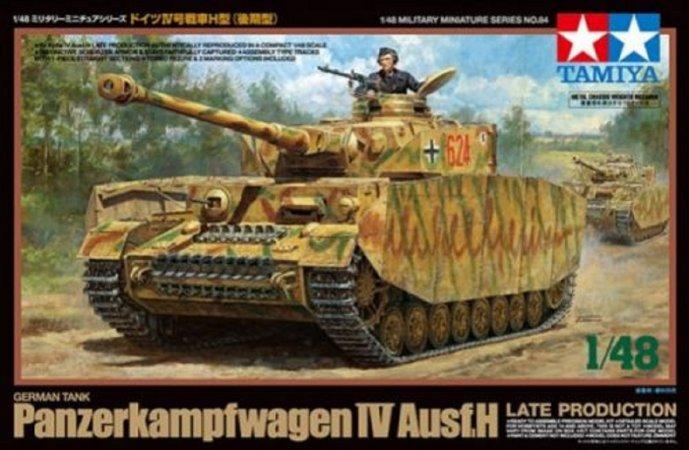Tamiya German Panzer IV Ausf.H - Late Production