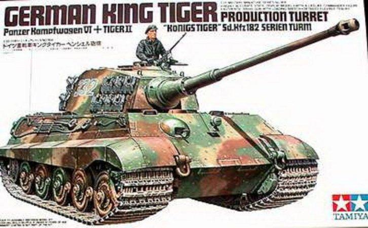 "Tamiya King Tiger ""Production Turret"""