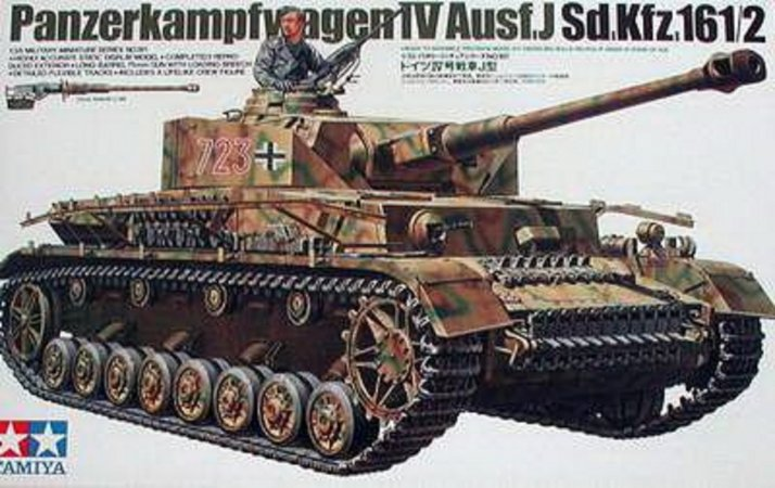 Tamiya German Panzer IV Type J