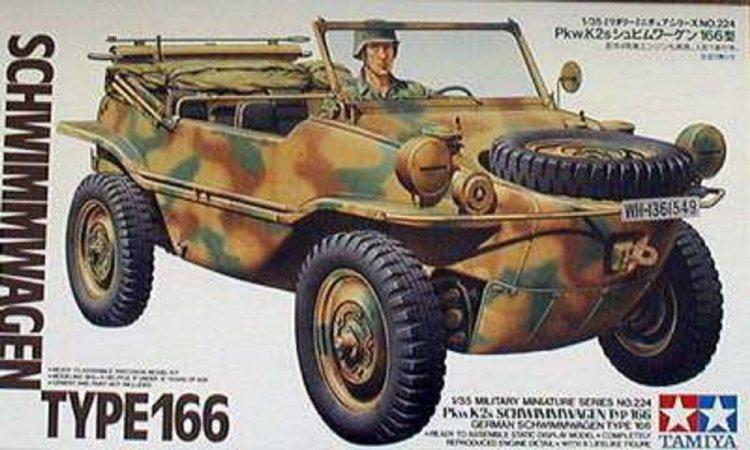 Tamiya Schwimmwagen Type 166 - 1:35