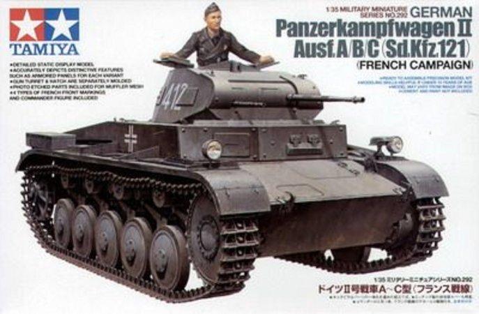 Tamiya German PzKw II - Ausf. A/B/C (Sd.Kfz.121)