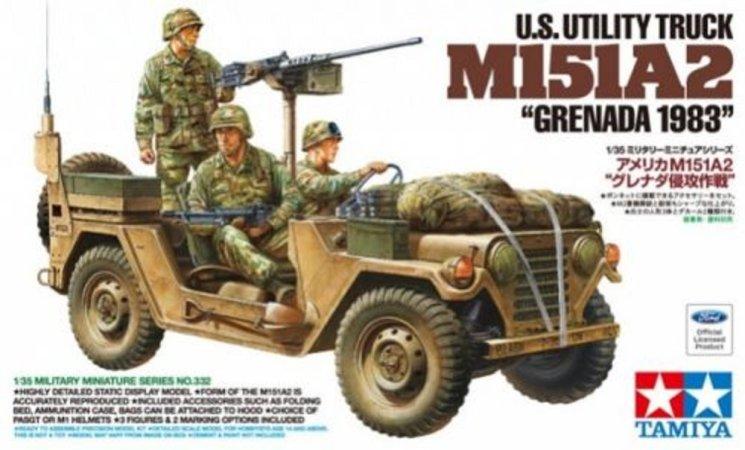 """Tamiya US Utility Truck M151A2 - Grenada 1983"""""""""""