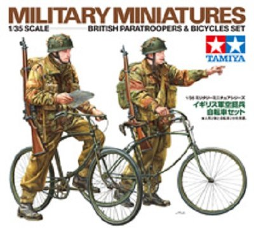 Tamiya British Paratroopers Set - w/Bicycles