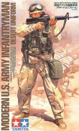 Tamiya Modern US Infantryman - Desert Uniform