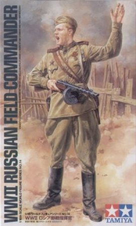 Tamiya Russian Field Commander - WWII