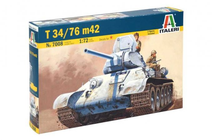 Italeri Model Kit tank 7008 - T 34/76 m42