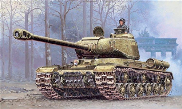Italeri Model Kit tank 7040 - JS-2 Stalin