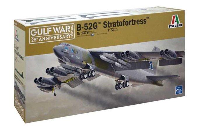 Italeri Model Kit letadlo 1378 - B-52G STRATOFORTRESS