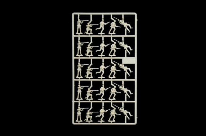 Italeri Model Kit figurky 6177 - UNION INFANTRY (AMERICAN CIVIL WAR)