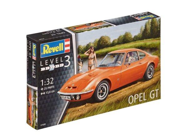 Revell Plastikový model auta Opel GT